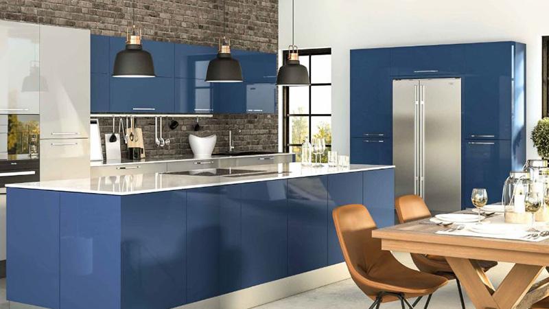 ترند طراحی کابینت آشپزخانه هایگلاس 2020