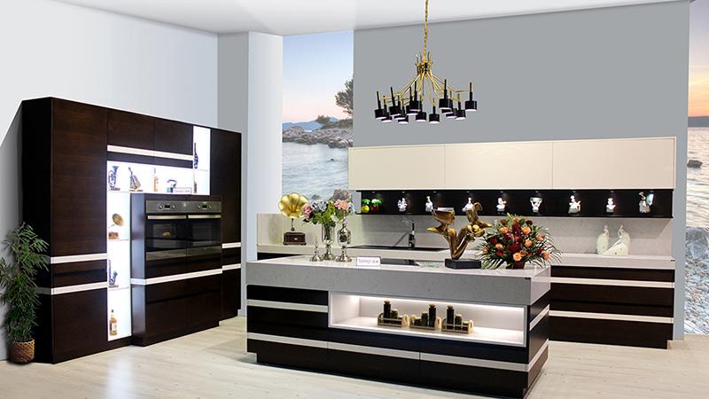 نورپردازی و ال ای دی، ایده ای جالب برای طراحی کابینت های ممبران