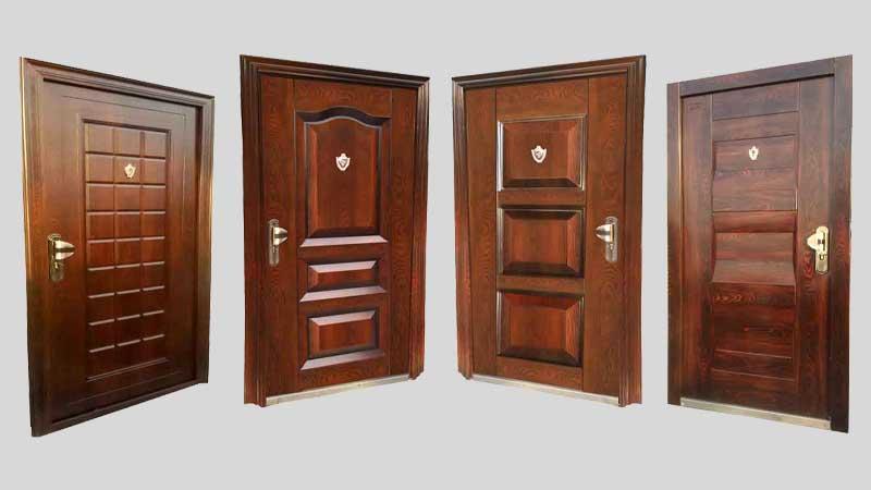 انواع روکش درب های ضد سرقت
