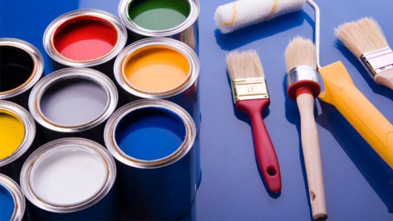 مراحل رنگ کردن (MDF)